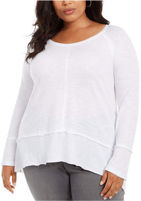 Style&Co. Style & Co Plus Size Seamed Tunic