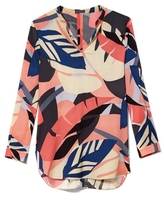 Vince Camuto Tropical-print Tunic