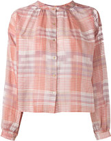 Ulla Johnson checked shirt