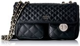 GUESS Wilson (Resort) Covertible Crossbody Flap-Black