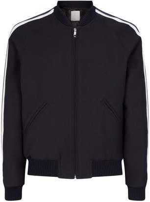 Sandro Side Stripe Bomber Jacket