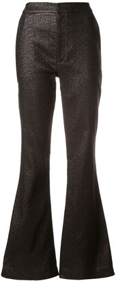 Cynthia Rowley Rayna shimmer trousers