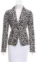 Kate Spade Silk Printed Blazer w/ Tags