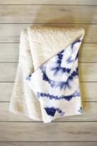 Deny Designs Jacqueline Maldonado Dye Diamond Indigo Fleece Throw Blanket - 60 x 50