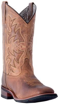 Laredo Mid-Calf Leather Boots - Anita