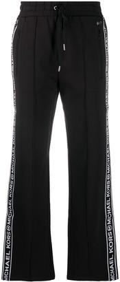 MICHAEL Michael Kors Logo-Tape Track Pants