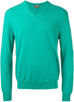 N.Peal V neck sweatshirt - men - Cashmere - XS