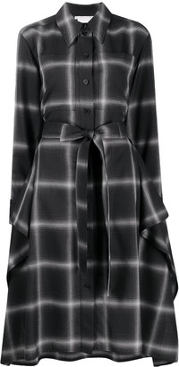 Stella McCartney Leilani check shirt-dress