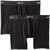 Naked Men's 2-Pack Essentials Boxer Brief