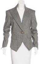 Thomas Wylde Metallic Tweed Blazer