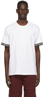 Burberry White Teslow T-Shirt