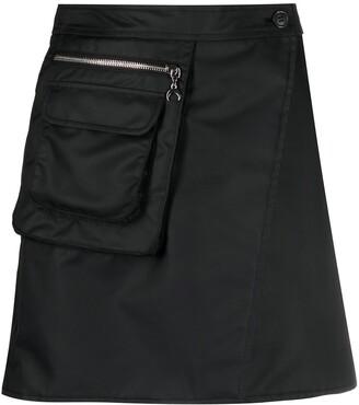 Marine Serre Survival Cycling mini skirt