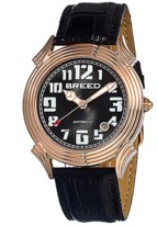 Breed Strauss Leather-band Automatic Watch.