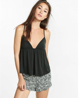 Express one eleven crossback babydoll cami