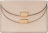 Chloé Pink Leather Card Holder