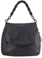 Tom Ford Jennifer Oversized Leather Shoulder Bag, Black