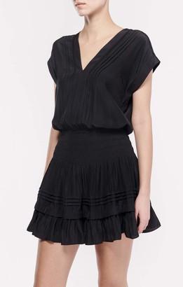 Ramy Brook Women's Vanessa Cap Sleeve Mini Dress