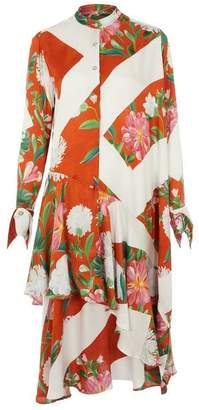 Palmer Harding palmer/harding Spicy Asymmetric Floral Shirt-Dress