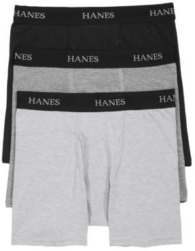 Hanes Little & Big Boys 3-Pk. Boxer Briefs