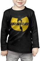 PaulWatson WuTang Announce Square Hip Hop Kids Long-Sleeve T-Shirts