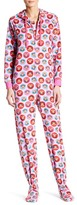 Paul Frank Printed Fleece Jumpsuit