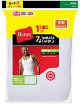 Hanes Men`s TAGLESS ComfortSoft A-Shirt Undershirt, 372AG7, M