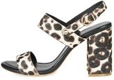 Joie Leopard Print Heels