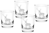 Spode Glen Lodge Double Old Fashioned Glasses (Set of 4)