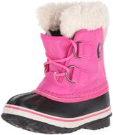 Sorel Girls' Yoot Pac Nylon Waterproof Winter Boot Pink 13 M US