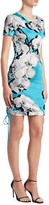Roberto Cavalli Floral Tee Sheath Dress