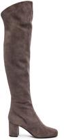 Saint Laurent Suede BB Thigh High Boots