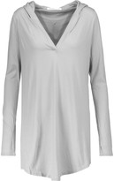 Yummie by Heather Thomson Pima cotton and modal-blend hooded pajama top