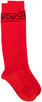 Givenchy logo print socks - women - Polyamide/Wool - XS
