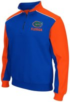 Colosseum NCAA Florida Gators Men's Thriller II Quarter Zip Pullover-Royal