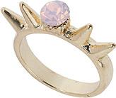 Topshop Rose Opal Spike Ring