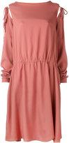 Societe Anonyme tied sleeve dress - women - Silk - 1