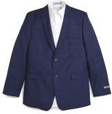 DKNY Boy's Check Wool Blazer