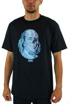DGK Men's Dead Pres T Shirt Black XL