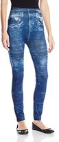 Carnival Women's Full Length Printed Jeans Leggings