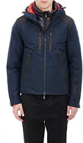 Moncler Men's Layered Ski Jacket-NAVY