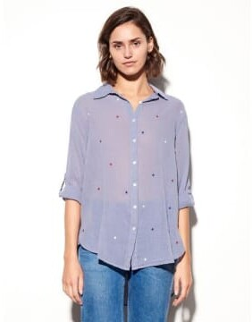 Thumbnail for your product : Sundry Blue Stars Shirt - M - Blue