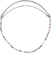 Bottega Veneta Tiger's-eye stone necklace