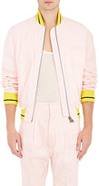 Haider Ackermann Men's Linen-Blend Bomber Jacket