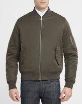 Ben Sherman Khaki Cotton Bomber Jacket
