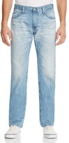 AG Jeans Graduate New Tapered Fit Jeans in 24 Years White Washed