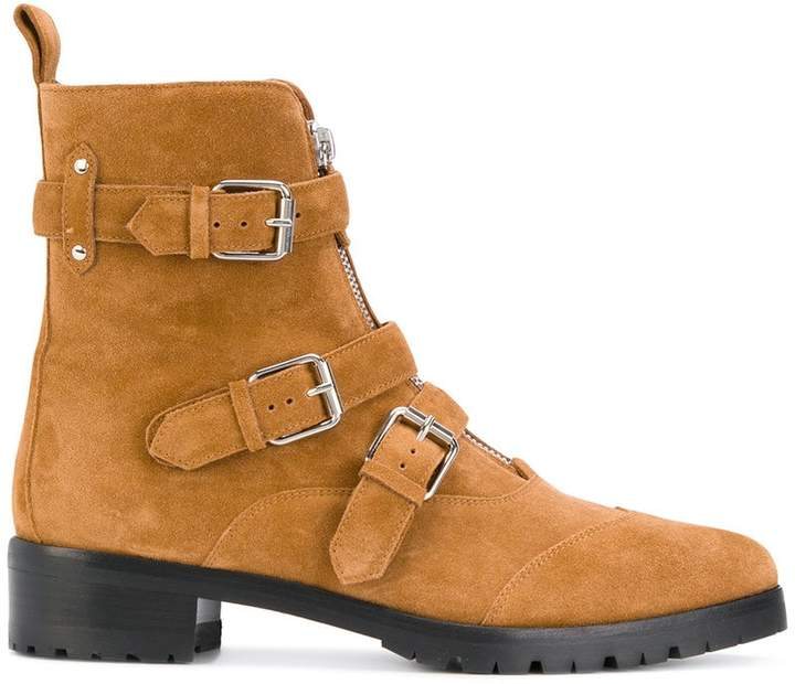 Tabitha Simmons pointed toe buckle boots