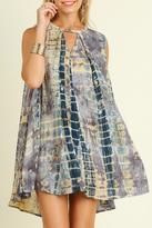 Umgee USA Tie Dye Love Dress