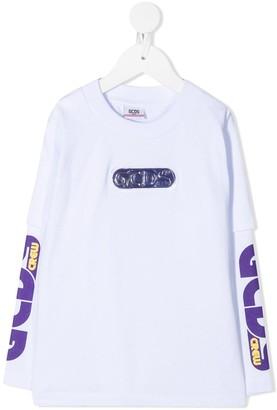 Gcds Kids graphic-print cotton T-shirt