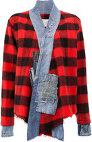 Greg Lauren vintage check jacket