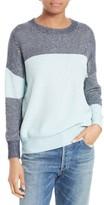 Equipment Women's Melanie Colorblock Cotton & Silk Sweater